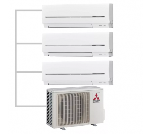 Сплит-система Mitsubishi Electric MXZ-3E68VA - MSZ-SF25VE*3