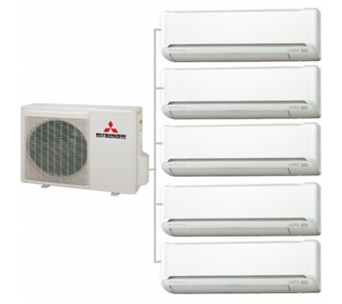 Сплит-система Mitsubishi Electric MXZ-5E102VA - MSZ-SF25VE*5